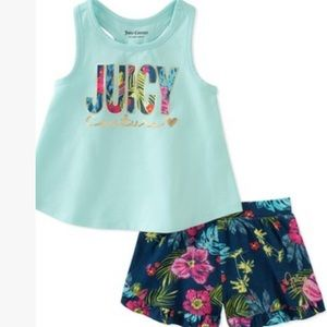 Girls Juicy Couture summer outfit